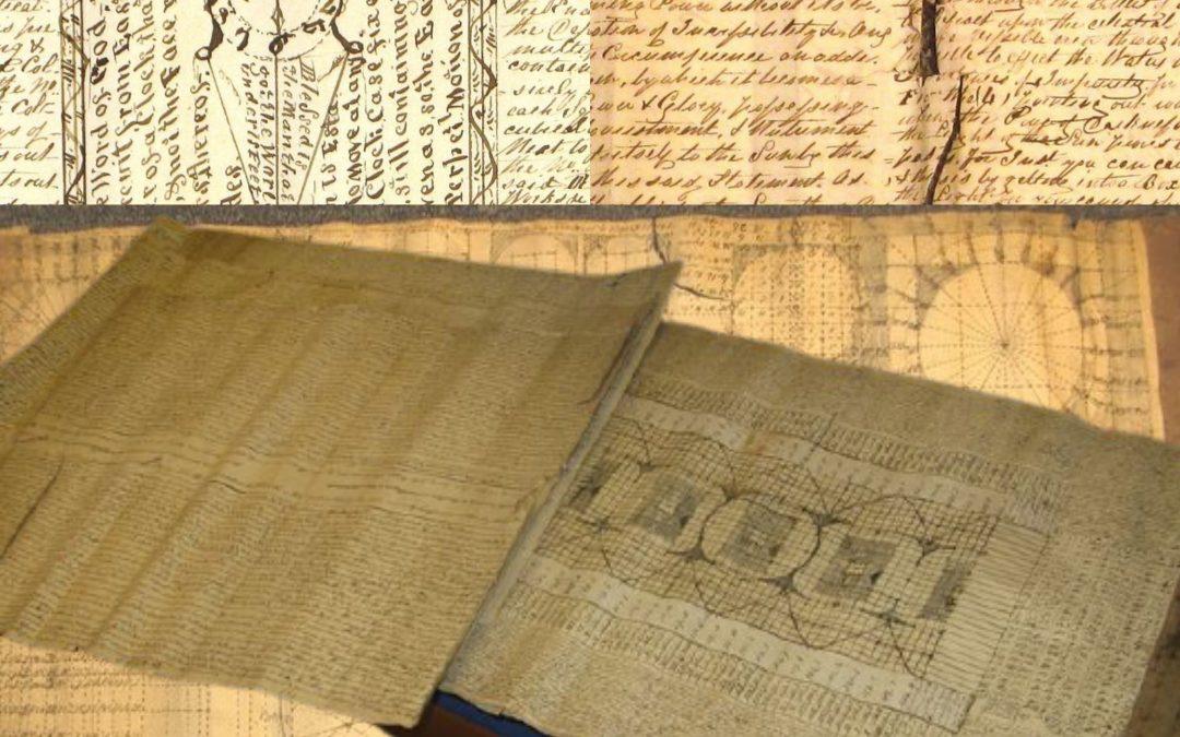 """Clamorosa asta su Catawiki: un rarissimo manoscritto di """"astronomia primordiale"""" e """"religione delle stelle"""" di John Horner"""