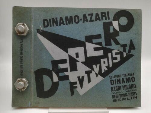 """Di nuovo su eBay una copia originale (1927) del """"Depero imbullonato"""""""