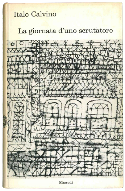 """Una copia con firma e dedica di Italo Calvino di """"La giornata d'uno scrutatore"""" (Einaudi, 1963)"""