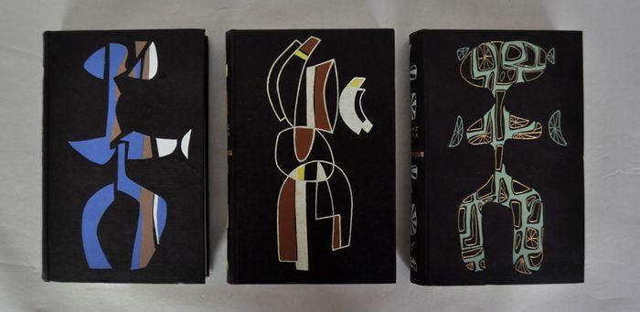 Tre stupende edizioni numerate di Franz Kafka (Editions NRF/Gallimard, 1946/1947) in scadenza d'asta