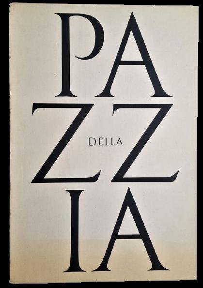 """Libro d'artista di denuncia sociale: Roberto Sambonet e il suo """"Della Pazzia"""" (1977)"""