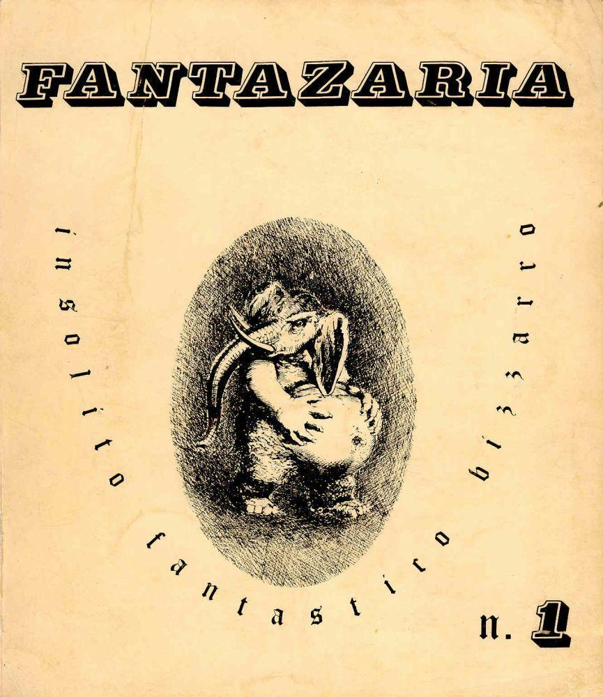 """Lo schiacciogramma su """"Fantazaria"""" di Giordano Falzoni: quando il testo unisce grafica e semantica"""