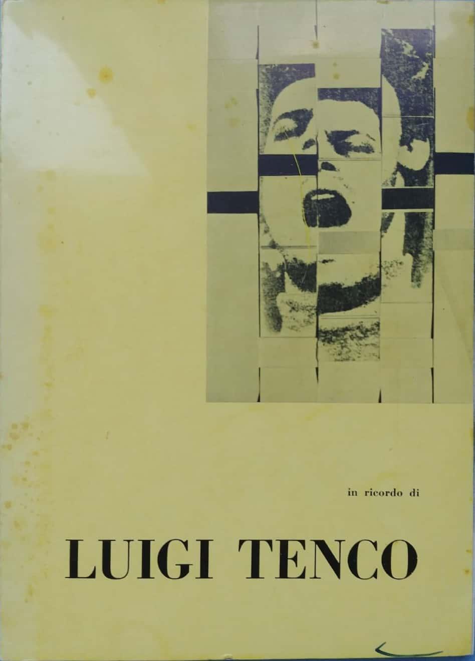 Un rarissimo instant book su Luigi Tenco (1968), ricordato dai suoi fan