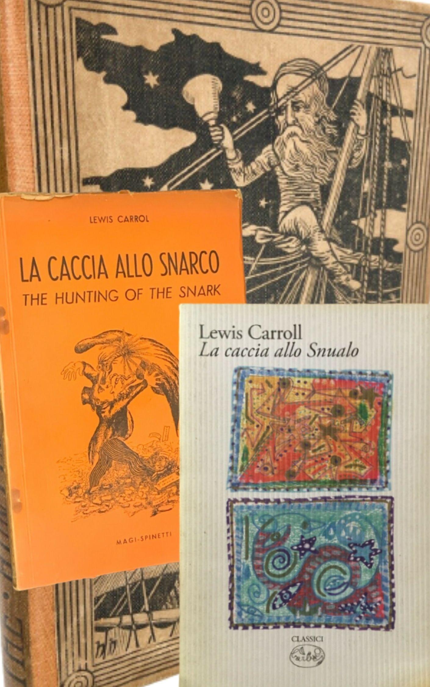 """""""La caccia allo snualo"""" di Lewis Carroll (Barbès, 2008) al mercatino"""