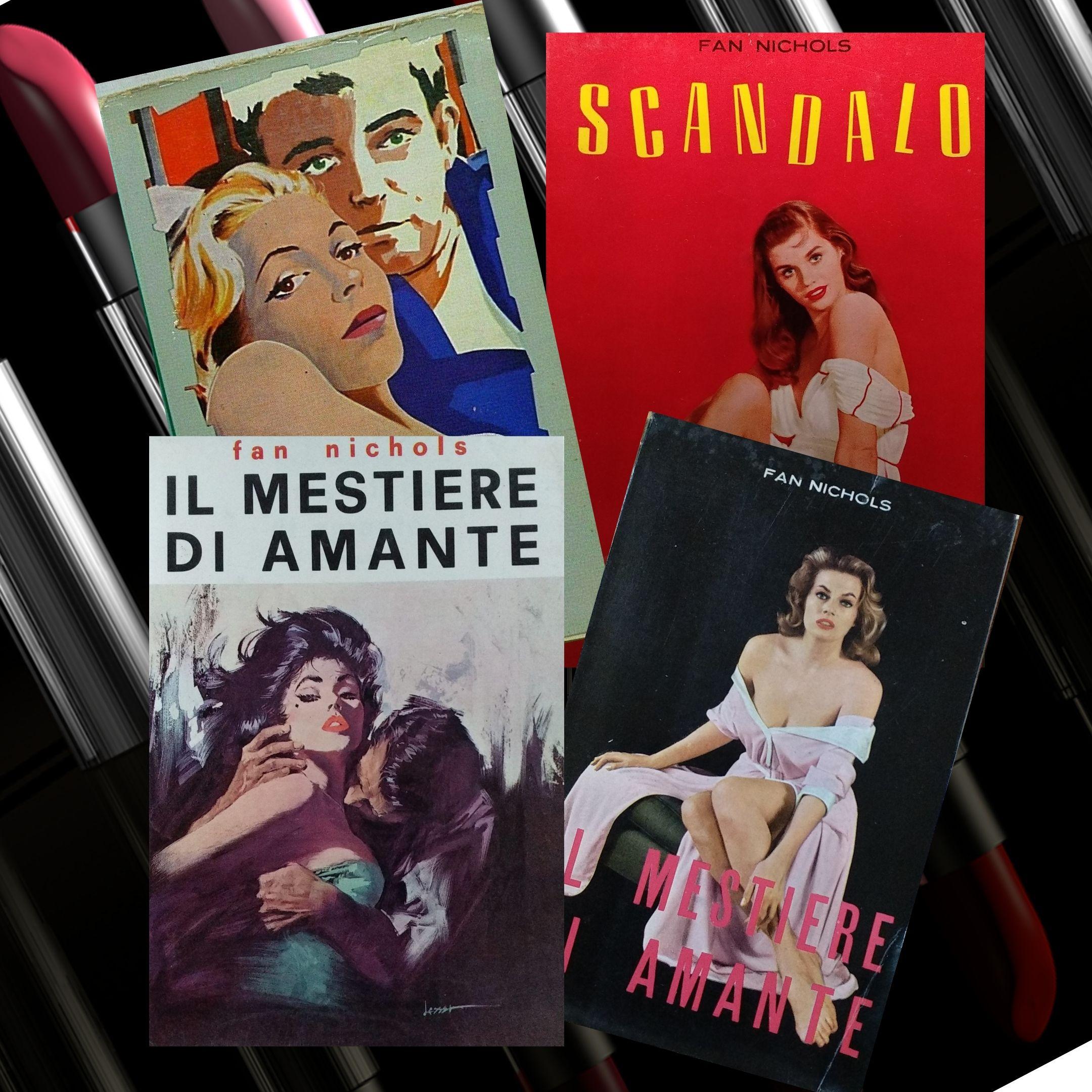 """Fan Nichols e i suoi libri in italiano in """"doppie edizioni"""" della Baldini & Castoldi (anni '50)"""