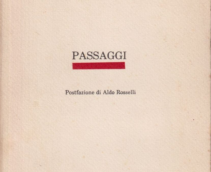 """Una copia in vendita di """"Passaggi"""" di Igor Patruno (Aelia Laelia, 1983): rarissima prima edizione"""