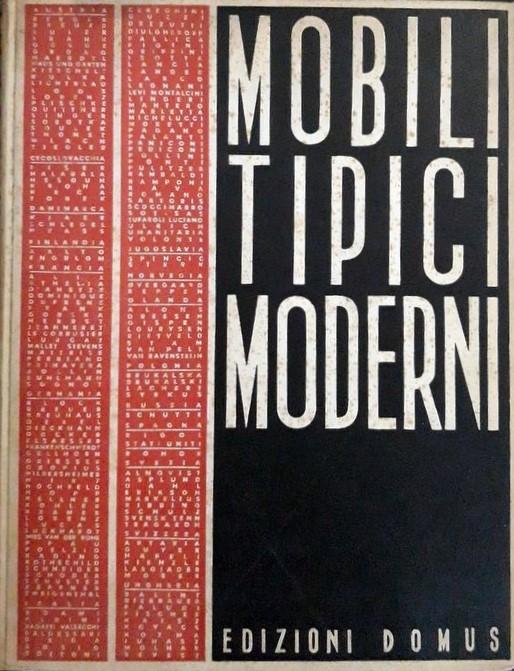 """""""Mobili tipici moderni"""" uno straordinario catalogo di design degli anni '30 in asta"""