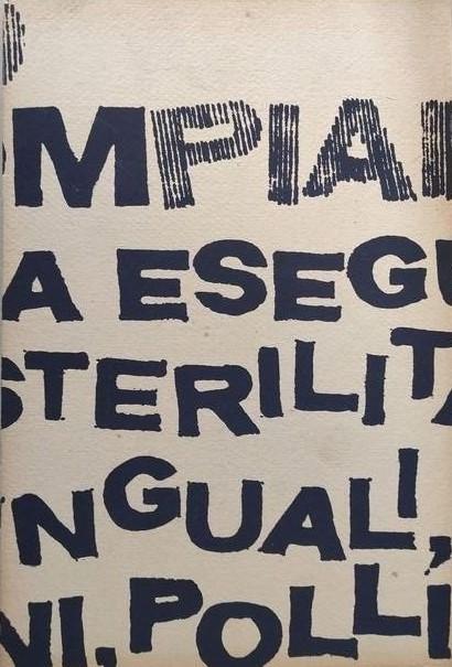 """""""Le idrologie"""" di Emilio Villa (1968): un'edizione di 200 copie ma ogni esemplare è diverso dall'altro"""