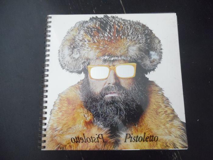 Raro e prezioso catalogo & libro d'artista di Michelangelo Pistoletto del 1974 in asta
