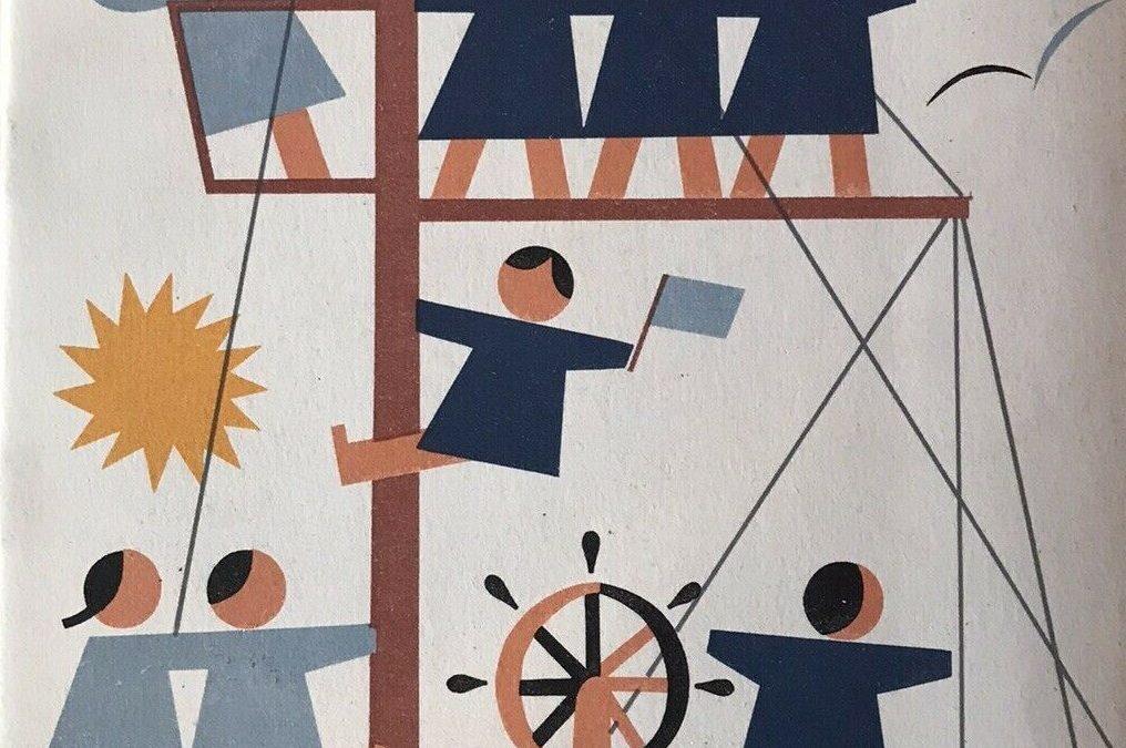 """In asta un libretto mai visto prima della Società di Navigazione """"Italia"""" di Genova dedicato ai """"Bimbi a bordo"""" (anni '50)"""