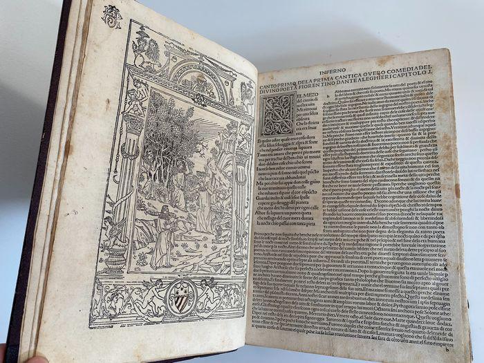 In scadenza l'asta con un incunabolo della Commedia di Dante (Venezia, 1484)