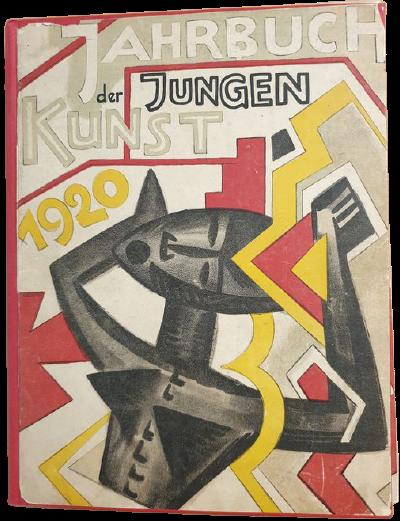 """Annuario della """"Giovane Arte"""" 1920 con 8 litografie originali in asta"""