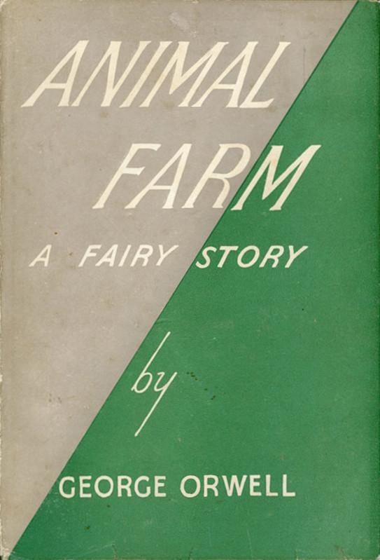 """A caccia delle edizioni rare di """"La Fattoria degli animali"""" di George Orwell"""