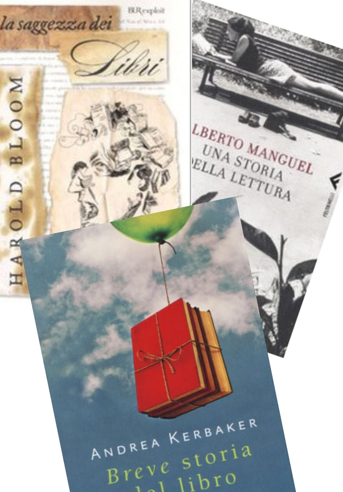 Tre perle di bibliofilia targate Kerbaker, Bloom e Manguel in bancarella