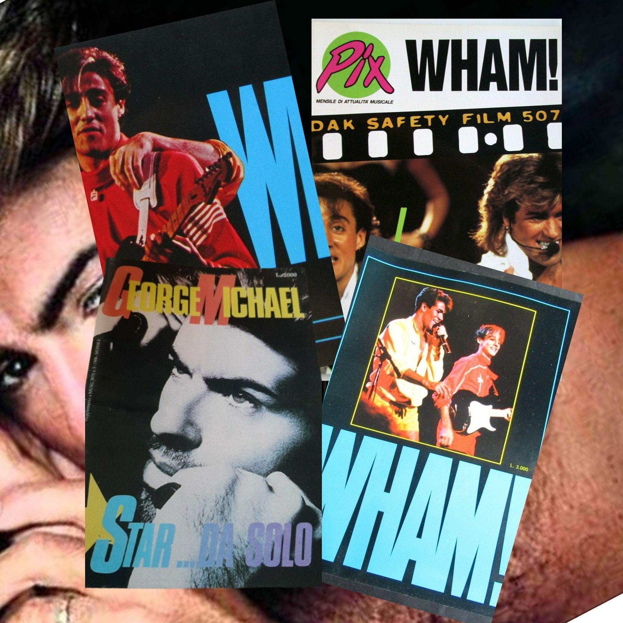 9 libri in italiano che il fan della pop star George Michael e degli Wham! deve assolutamente avere!