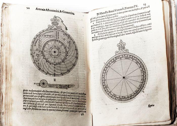 """""""Armonia astronomica & geometrica"""" di Teofilo Bruni (1622): preziosa edizione in asta"""