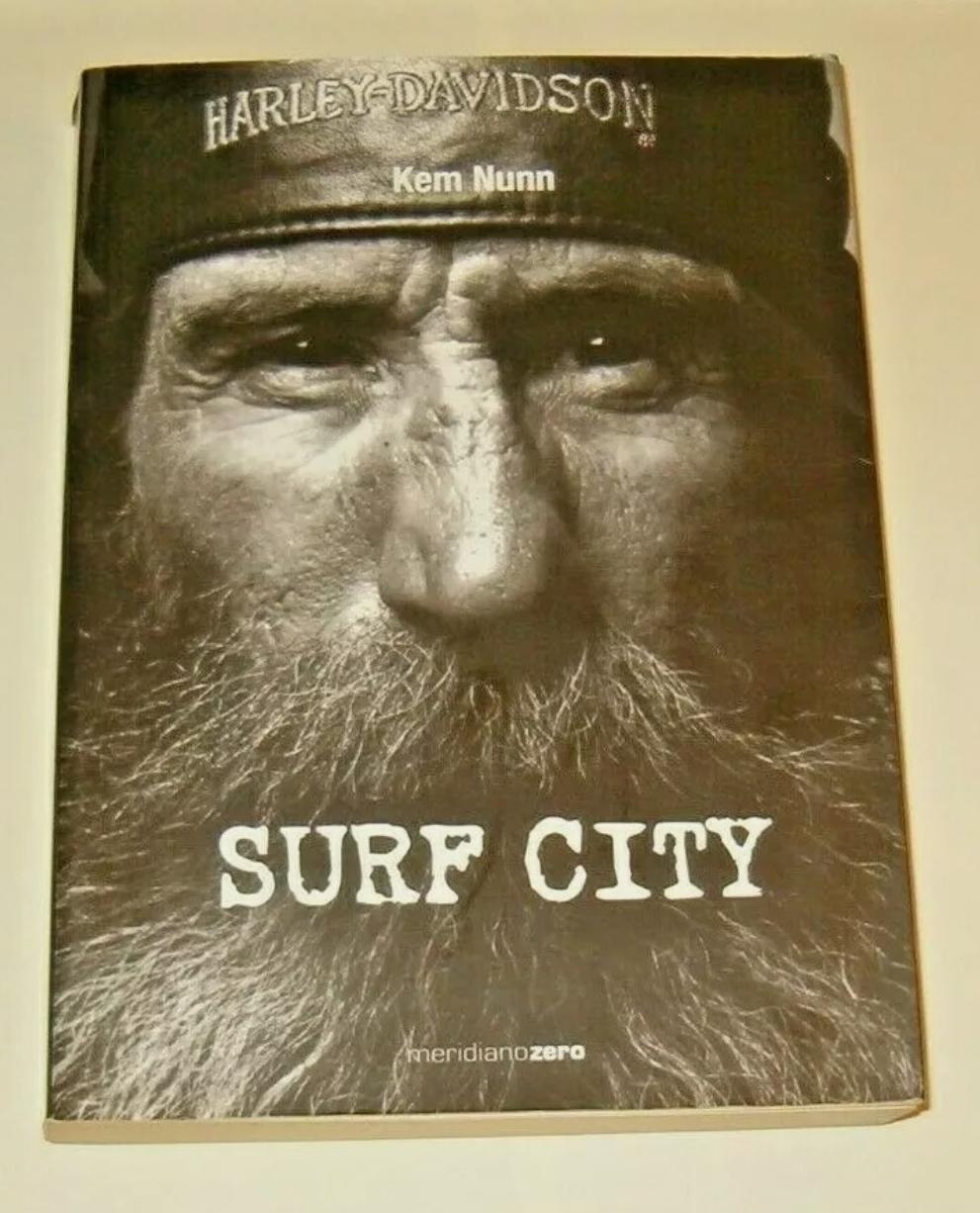 SURF CITY – KEM NUNN – PRIMA EDIZIONE GIUGNO 2000 FUORI CATALOGO RARISSIMO