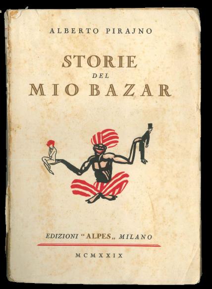 """""""Storie del mio bazar"""" di Alberto Pirajno (Alpes, 1929): un libro di un autore italiano quasi sconosciuto che David Bowie leggeva"""