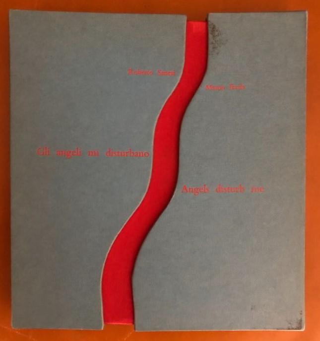 """""""Gli angeli mi disturbano"""", il libro d'artista di Roberto Sanesi con 9 acqueforti di Masuo Ikeda (Upiglio, 1969)"""