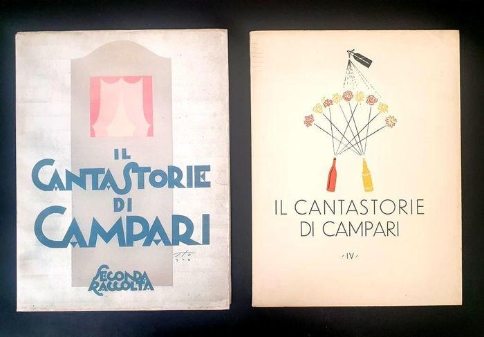 "Due ""Cantastorie"" di Campari (1928-1932) in asta: quando la pubblicità è arte (e l'arte è pubblicità)!"
