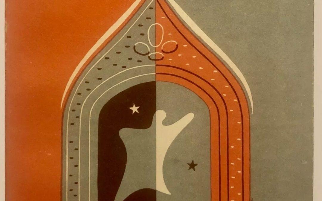 """RSI Teatro """"GLI SPIRITI"""" L. Tolstoi Il Dramma Torino copertina Futurista N. Edel"""