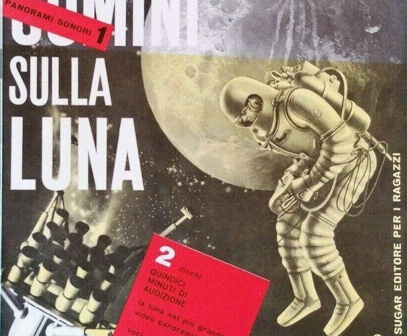 La grafica di Bruno Munari e la conquista della Luna!