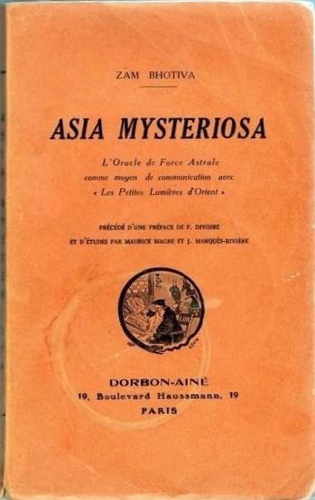 """Eccezionale: """"Asia Mysteriosa"""" (1929) di Zam Bhotiva con dedica autografa a Otto Rahn!"""