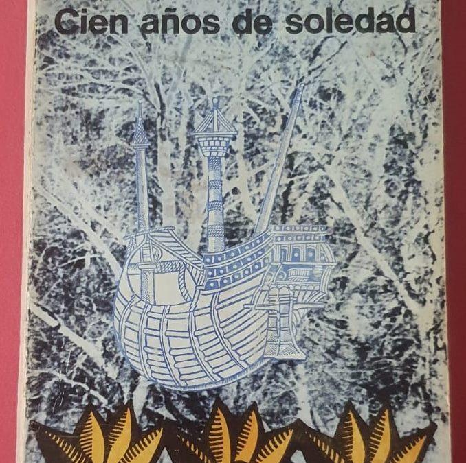 """Una prima edizione assoluta di """"Cien años de soledad"""" di Gabriel García Márquez (Editorial Sudamericana, 1967)"""