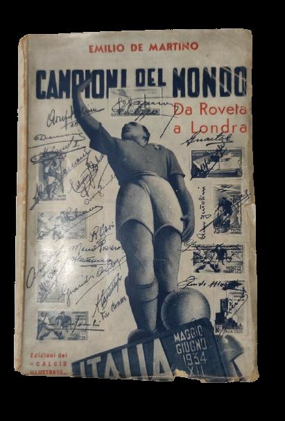 Quando l'Inghilterra del calcio guardava tutti dall'alto: rarissimo libro con prefazione di Vittorio Pozzo (1935)
