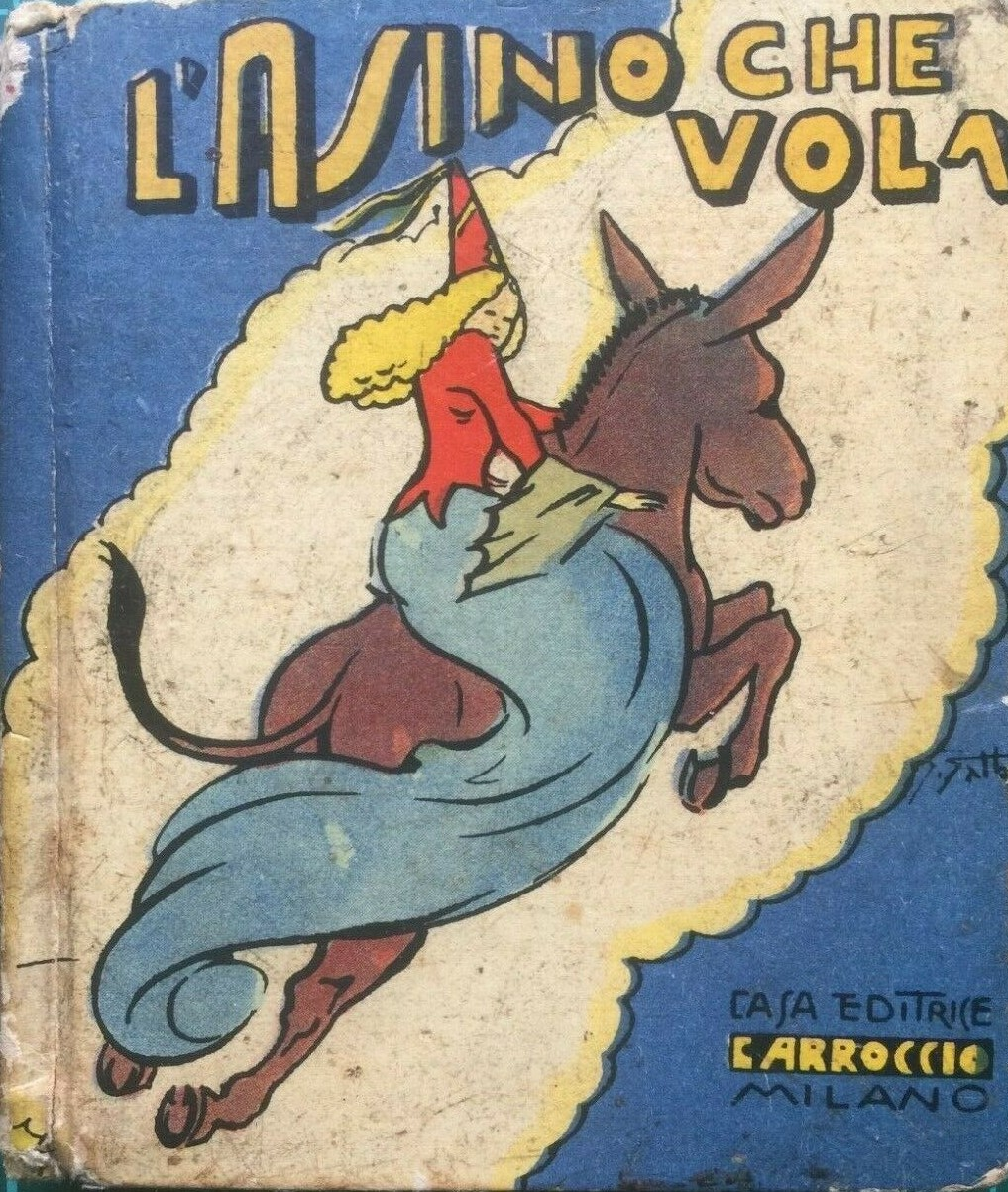 """""""L'Asinello che vola"""": un libricino per ragazzi raro e ricercato (con refuso) della Bibliotechina Balilla (1935)"""