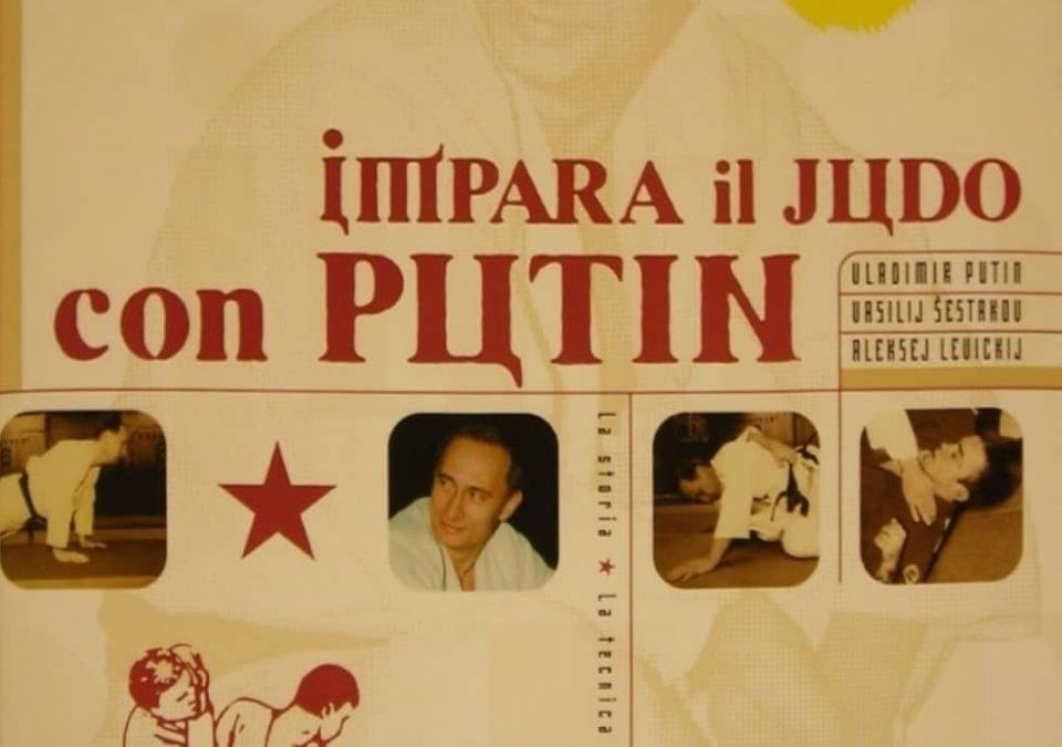 """""""Impara il judo con Putin"""": un libro cult per il padrone assoluto della Russia quando non era ancora famoso"""