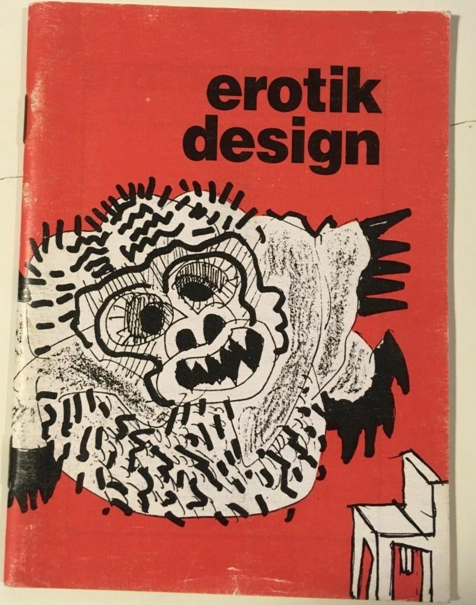 EROTIK DESIGN, Ettore Sottsass, Stampa Alternativa, 1995, Prima edizione