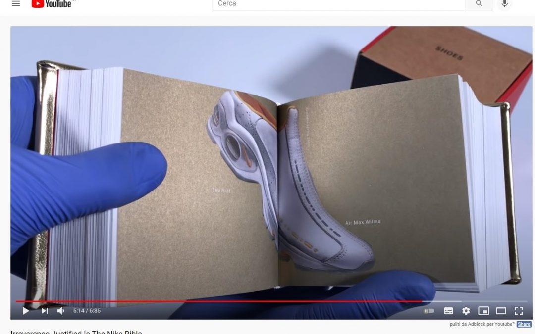 La 'Bibbia' per il collezionista delle sneakers Nike è un libro imperdibile: Irreverence Justified