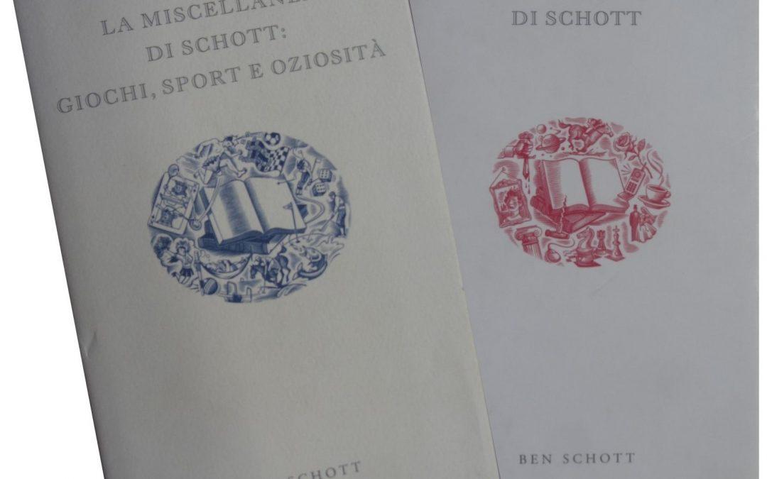 Ben Schott e la sua trilogia sull'inutile: metafora ideale del nostro tempo