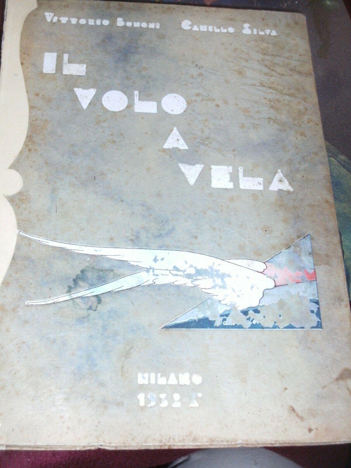 """Rarissimo futurista in asta: """"Il volo a vela"""" di Vittorio Bonomi e Camillo Silva (1932)"""