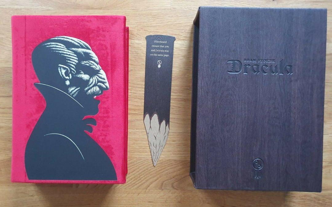 """Un'eccezionale edizione moderna di """"Dracula"""" di Bram Stoker stampata in Croazia"""